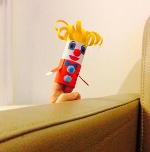 La marionnette Clown - par Humeur de moutard