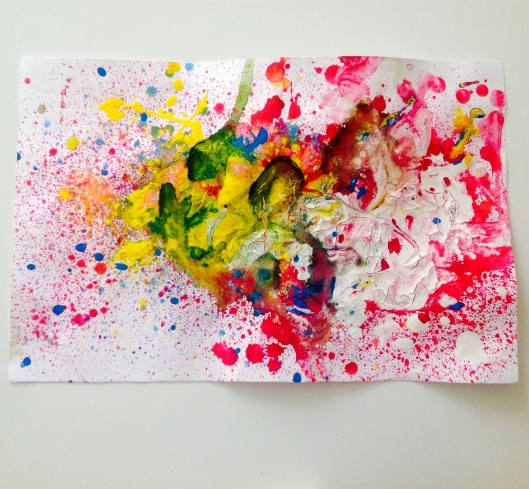 Peinture sensorielle - koko Cabane - by Humeur de moutard