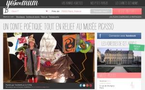 Madame Papier au Musée Picasso