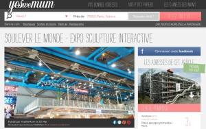 Soulever le monde - centre Pompidou - par Humeur de moutard