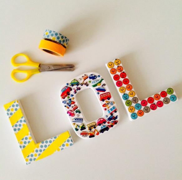 Lettres décorées by Humeur de moutard