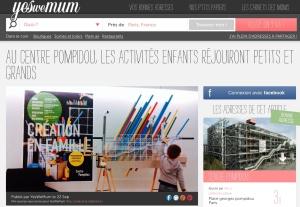 Le programme jeunesse 2015-2016 du Centre Pompidou - by Humeur de moutard