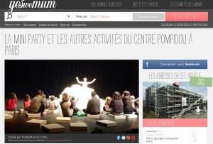 Mini Party au Centre Pompidou by Humeur de moutard