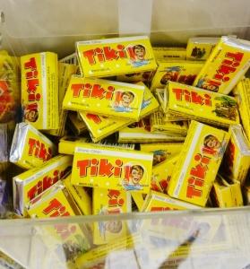 Les cubes de limonade sèche Tiki