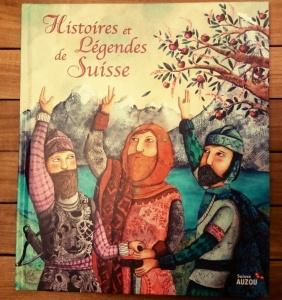 Histoires et légendes de Suisse des Éditions Auzou