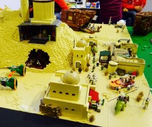 Whaou le paysage lunaire de Star Wars en Lego !