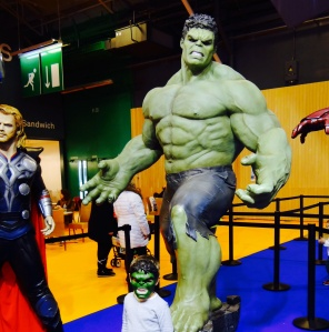 Hulk et son échantillon