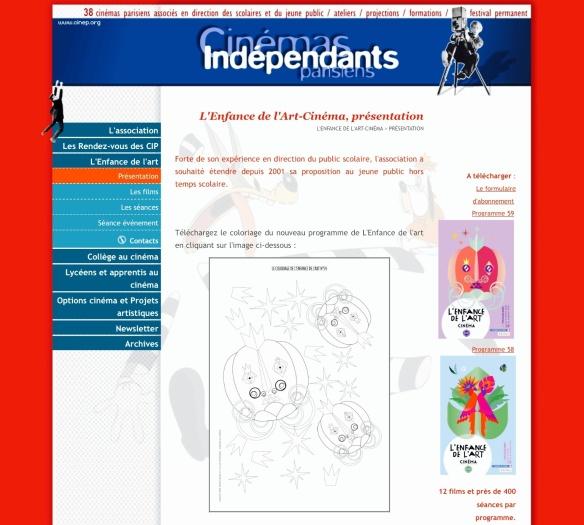 Site Web L'Enfance de l'art - bu Humeur de moutard
