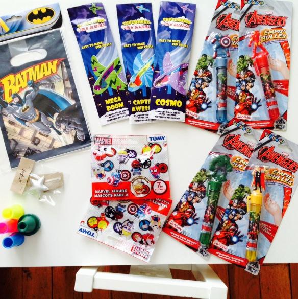 Petits cadeaux anniversaires Super-Héros by Humeur de moutard
