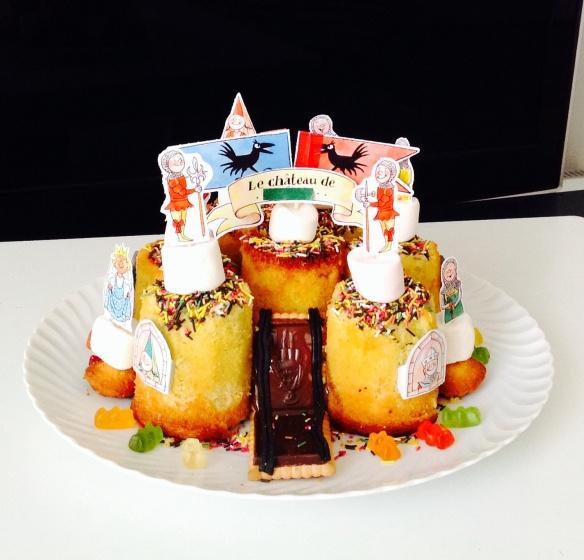 Gâteau château fort - by Humeur de moutard