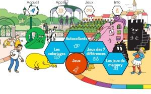 Site AppsGo, onglet jeux Barbapapa - by Humeur de moutard