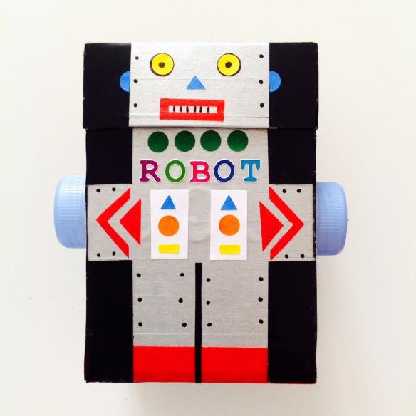 Boîte robot vintage by Humeur de moutard