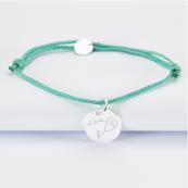 bracelets avec dessin et nom de l'enfant