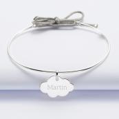 bracelet nuage et prénom
