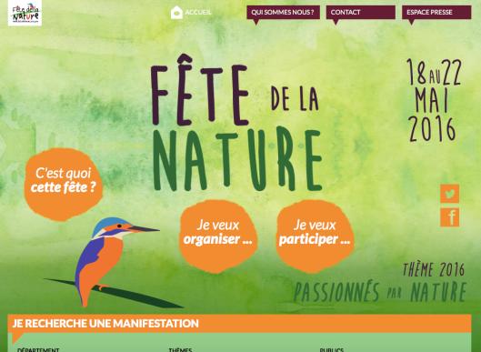 Site fête de la nature
