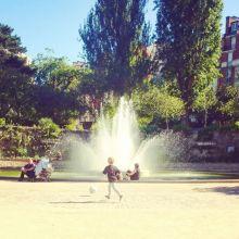 Le square St Lambert