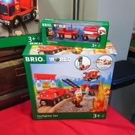 Le train des pompiers