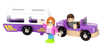 La Jeep et la Caravane + 2 personnages