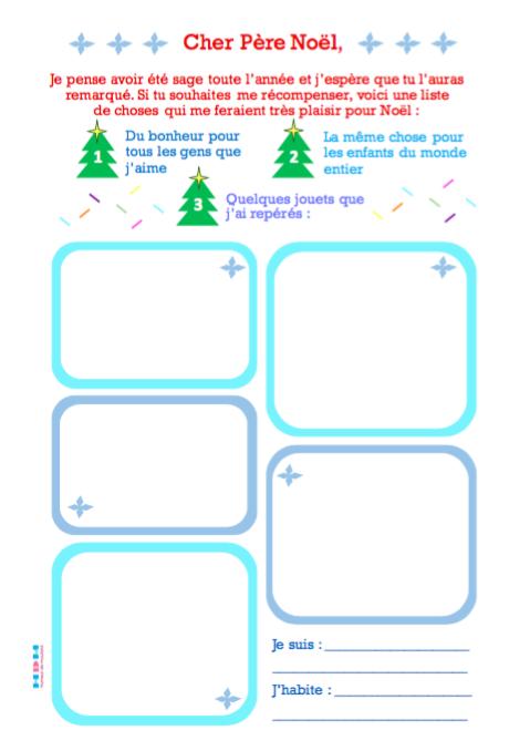 Fabuleux DIY] La lettre au Père Noël 2016 | Humeur de moutard AJ34