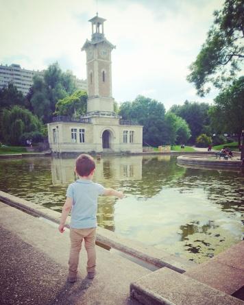 Le parc Georges Brassens