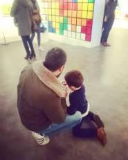 Jeu avec papa
