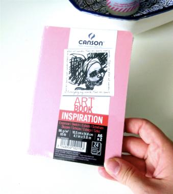 Un carnet Canson