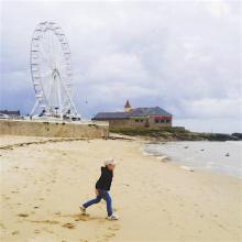 La plage et le casino