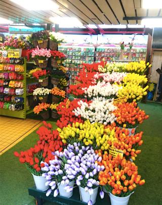 Et des tulipes !